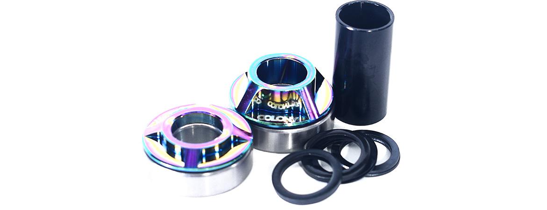 Colony BMX Mid bottom bracket kit Rainbow