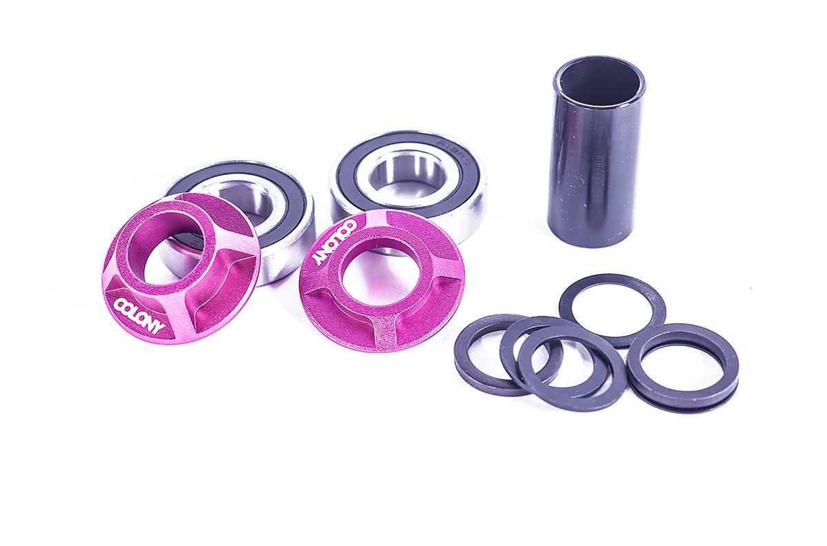 Colony BMX Mid bottom bracket kit Pink