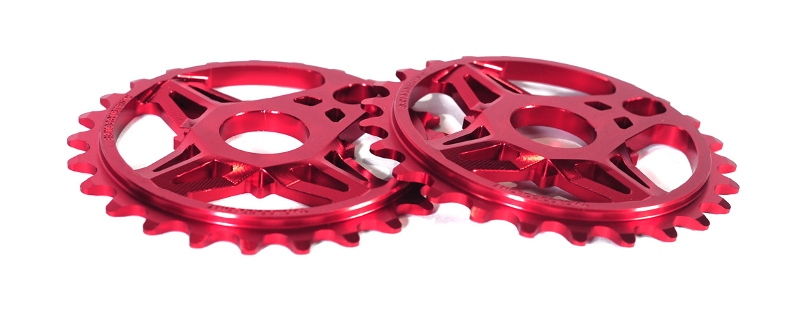 Colony CC Sprocket Red