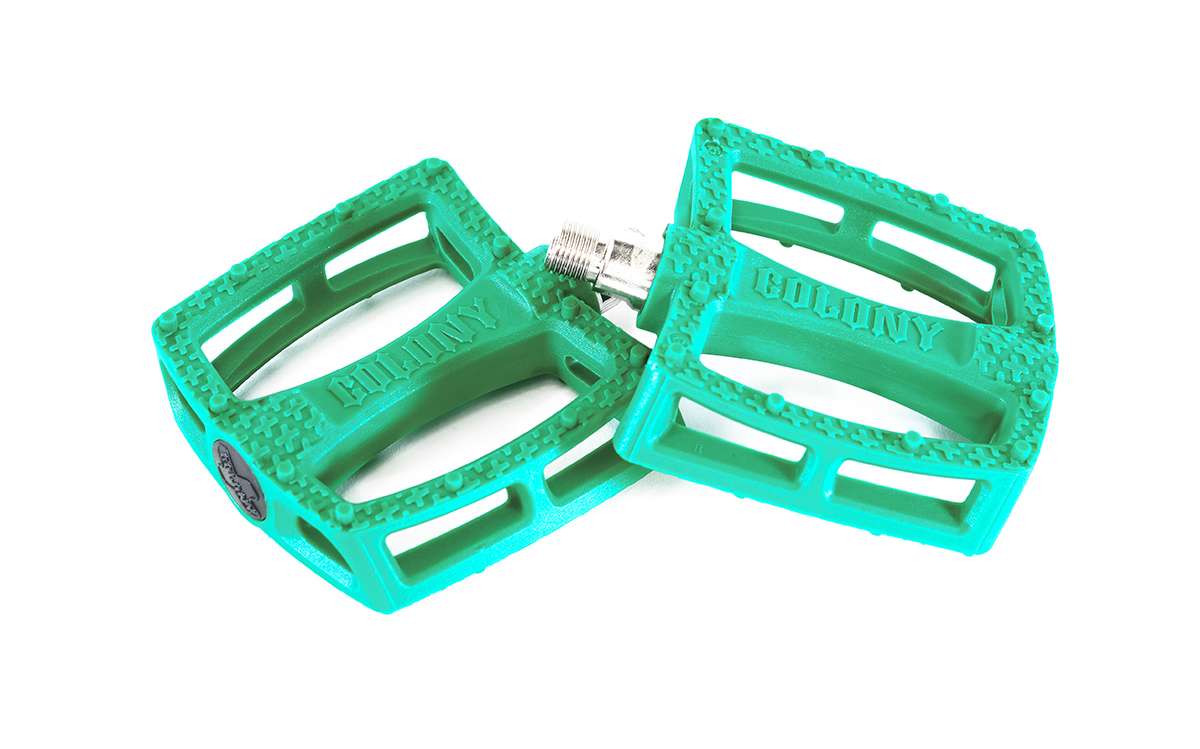 Colony Fantastic Plastic Pedals Emerald