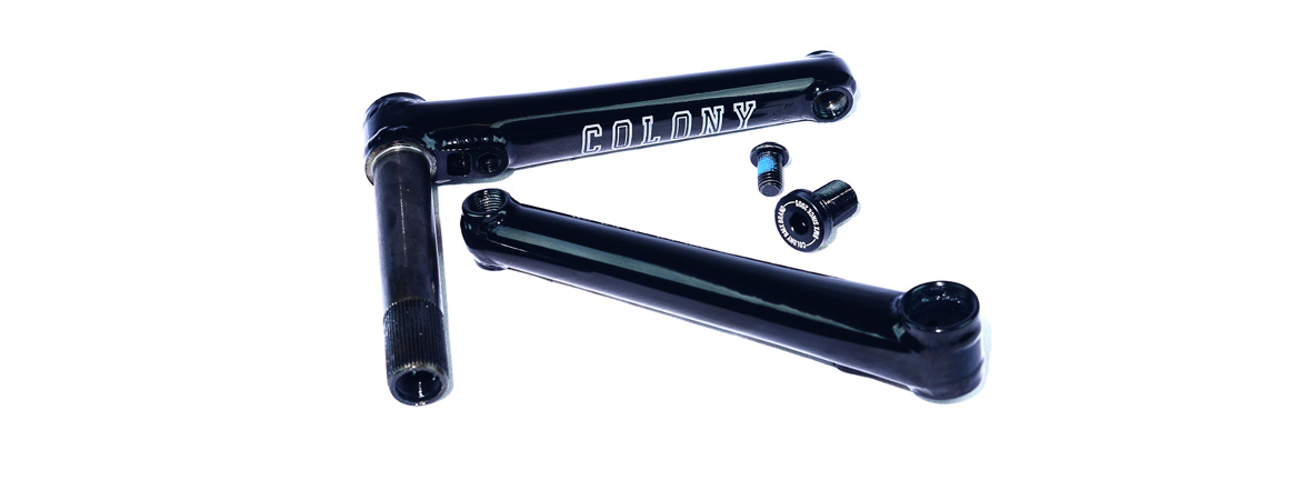 Colony BMX 22's Cranks Black