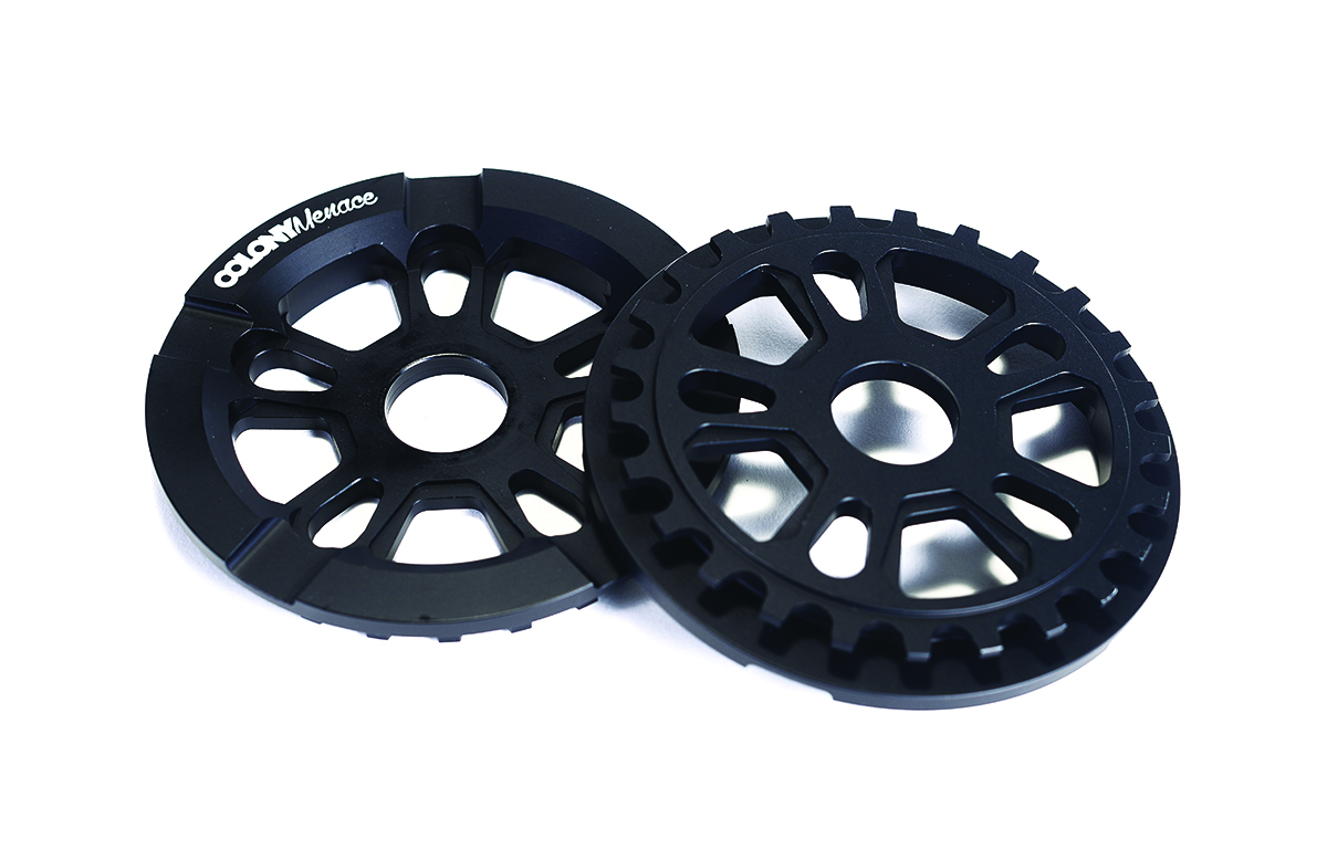 Colony BMX Menace Guard Sprocket Black
