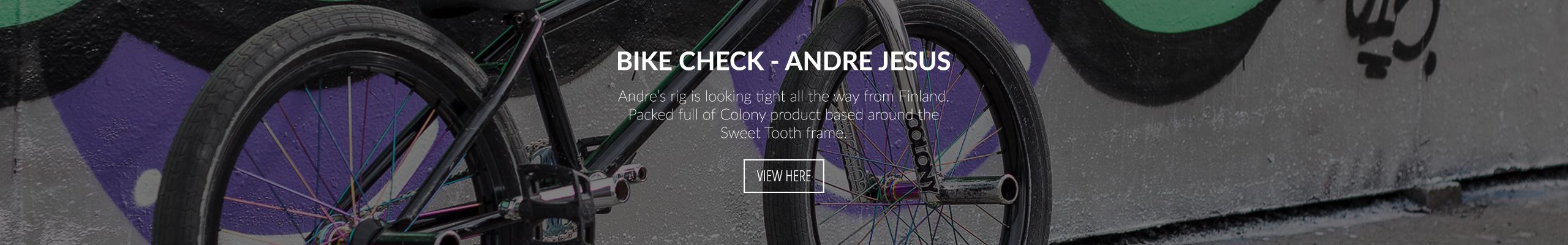 Bike Check - Andre Jesus