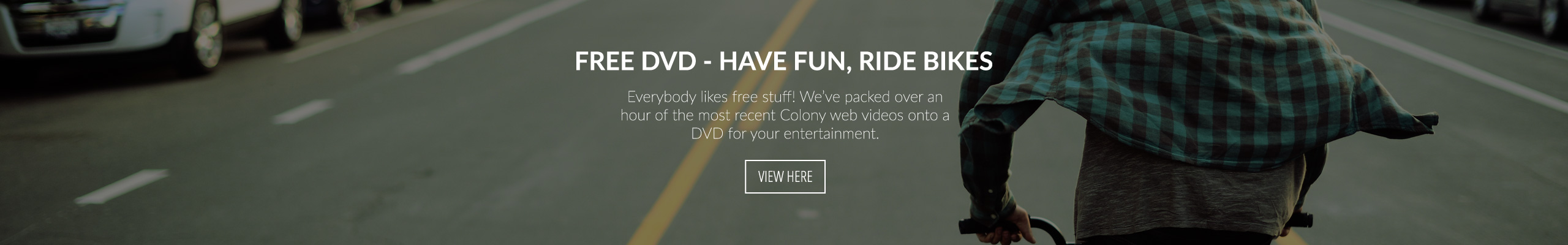 Free DVD - Have Fun, Ride Bikes