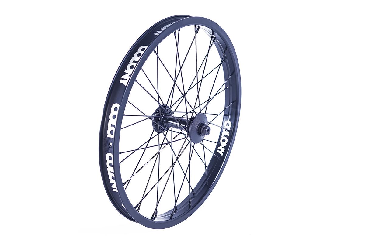 Colony BMX Pintour Front Wheel Black