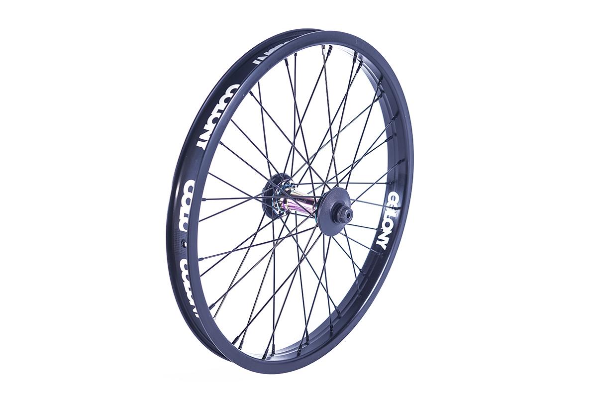 Colony BMX Pintour Front Wheel Rainbow