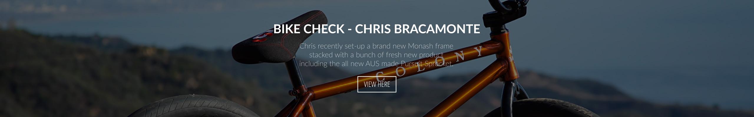Bracamonte bike check