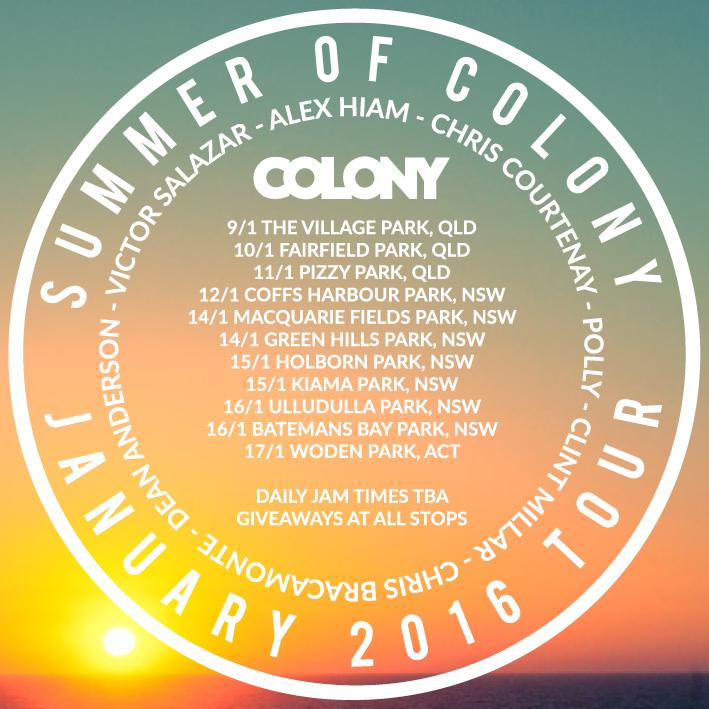 COLONY TRIP JAN15