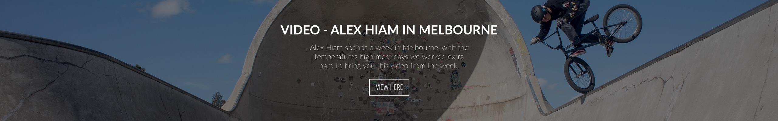 Video - Alex Hiam in Melbourne