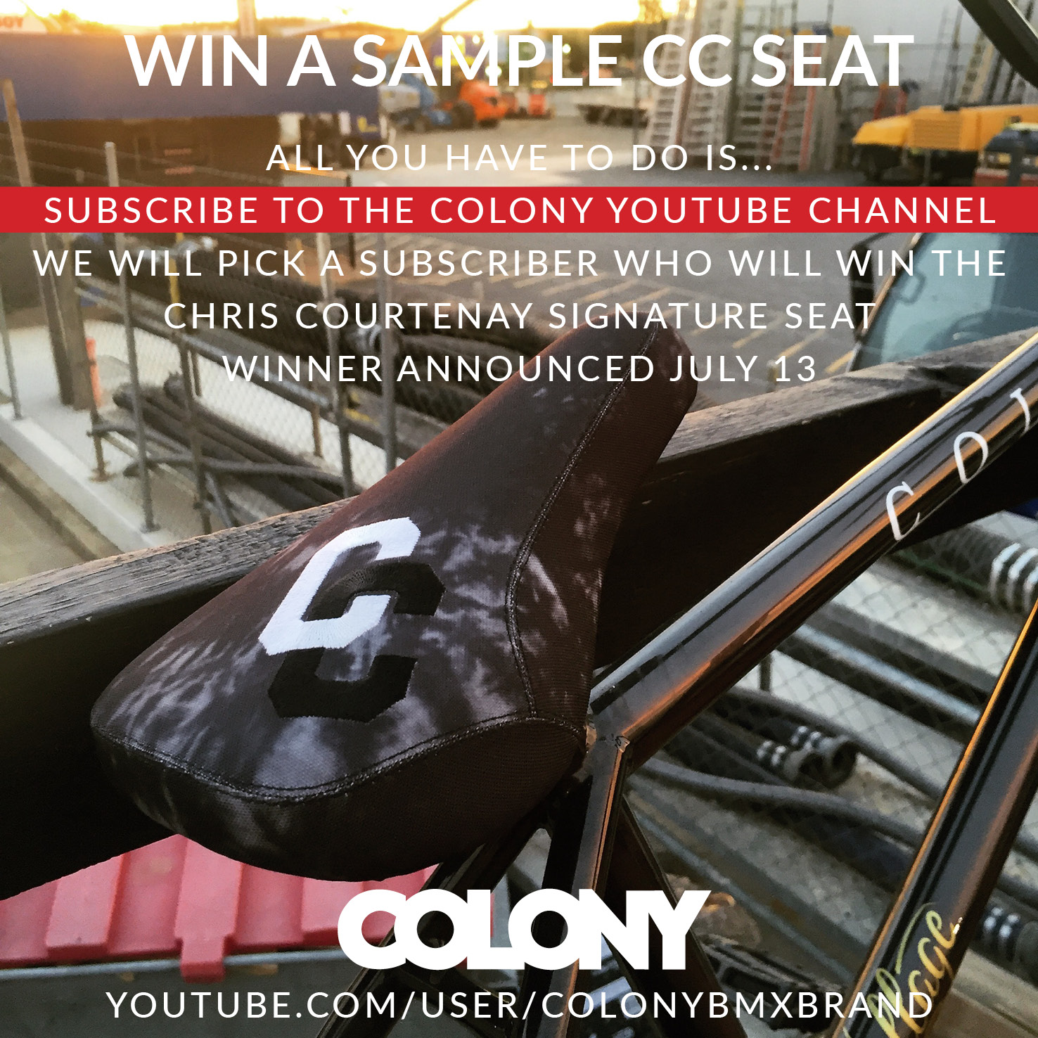 COLONY YOUTUBE SUBS FB JULY16