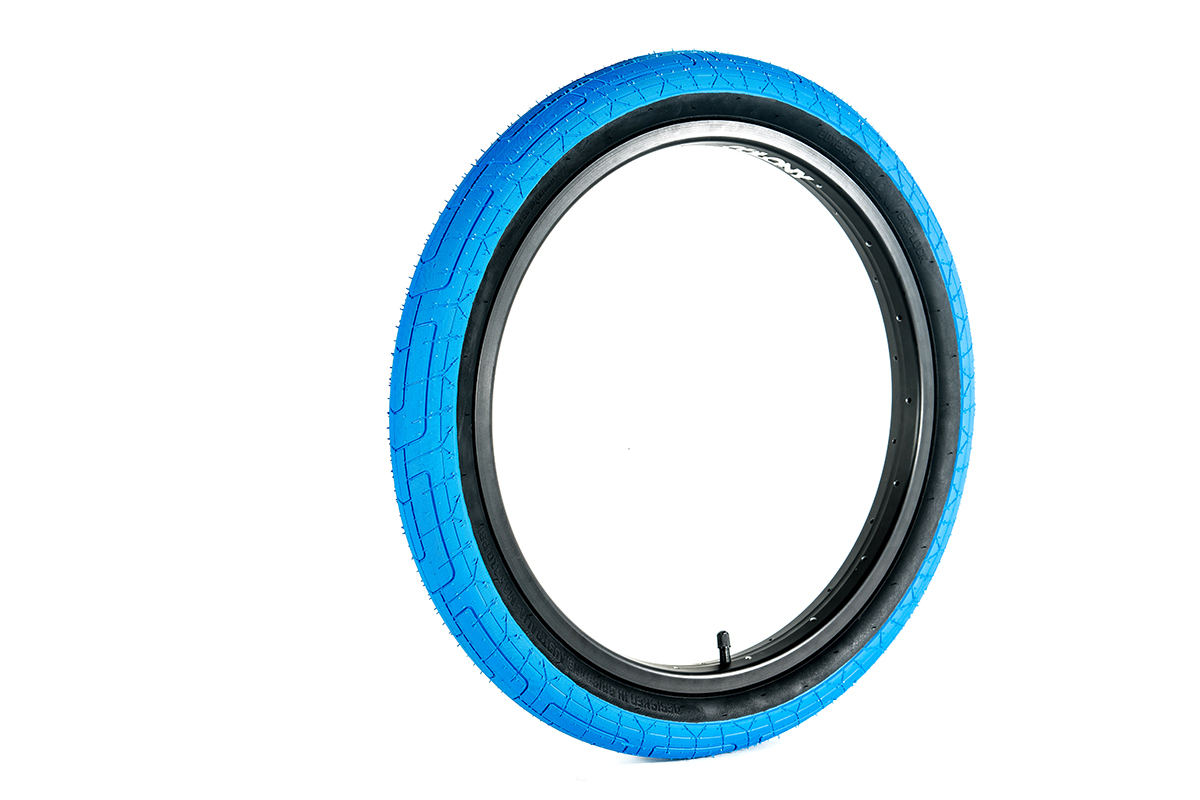 Colony Griplock BMX Tyre Blue
