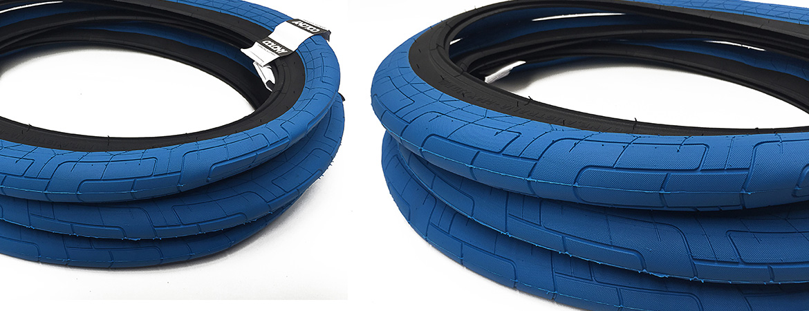 Colony BMX Griplock Tyre Blue