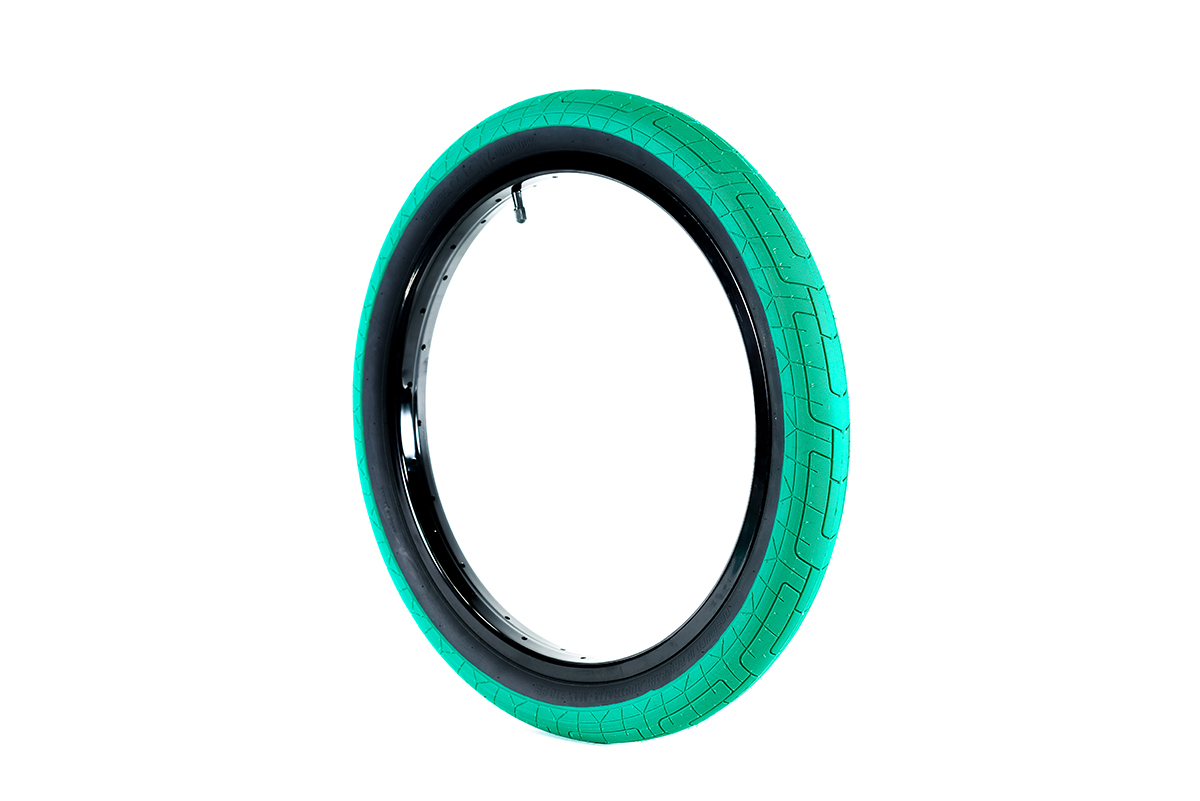 Colony BMX Griplock Tyre Emerald