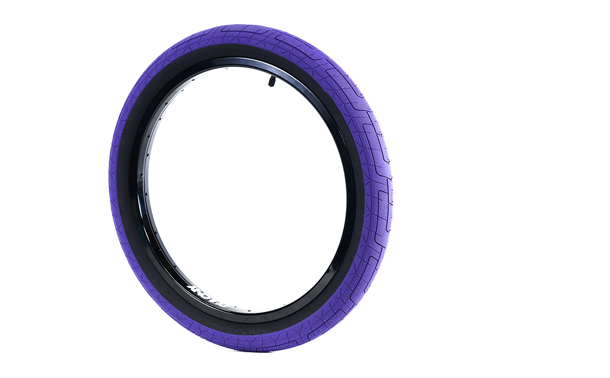 Colony BMX Griplock Tyre Purple