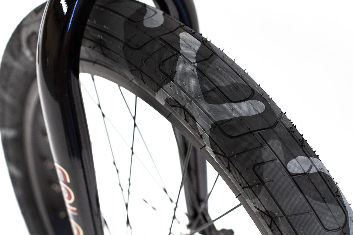 Colony BMX Emerge complete Bike Black Camo Grey