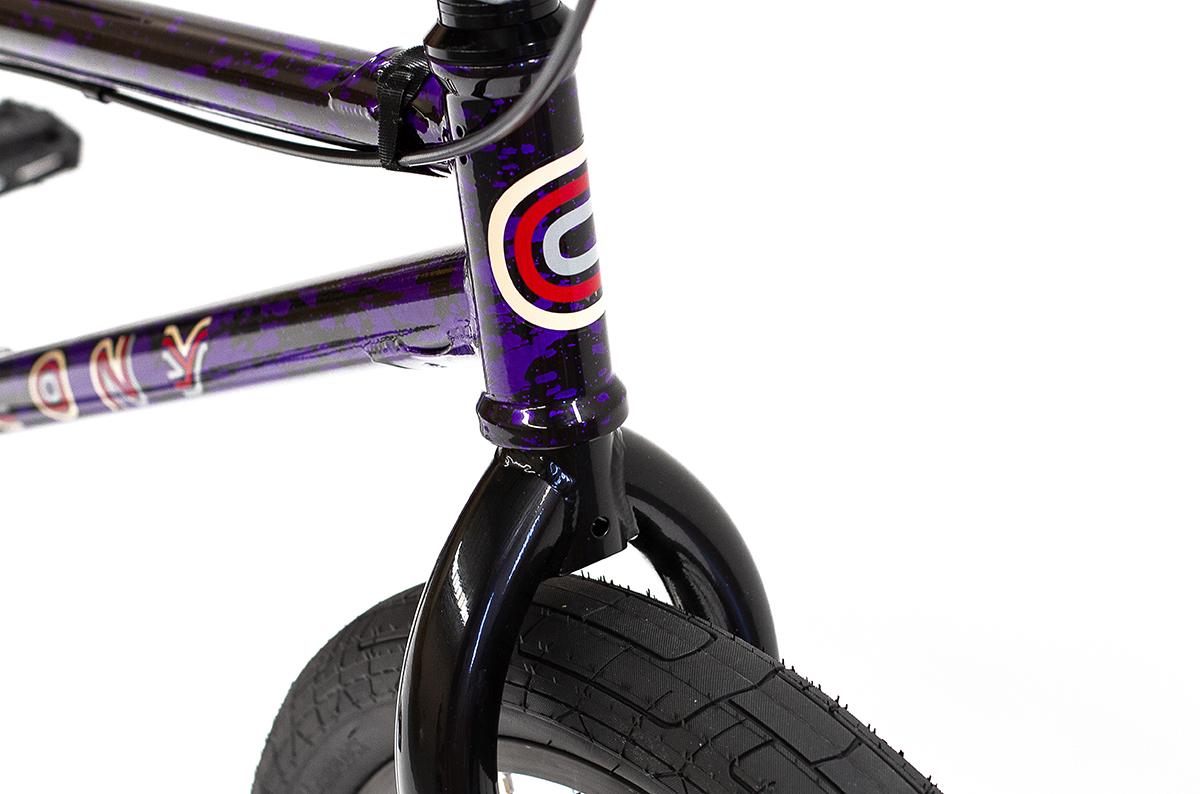 Colony BMX Emerge complete Bike Purple Storm
