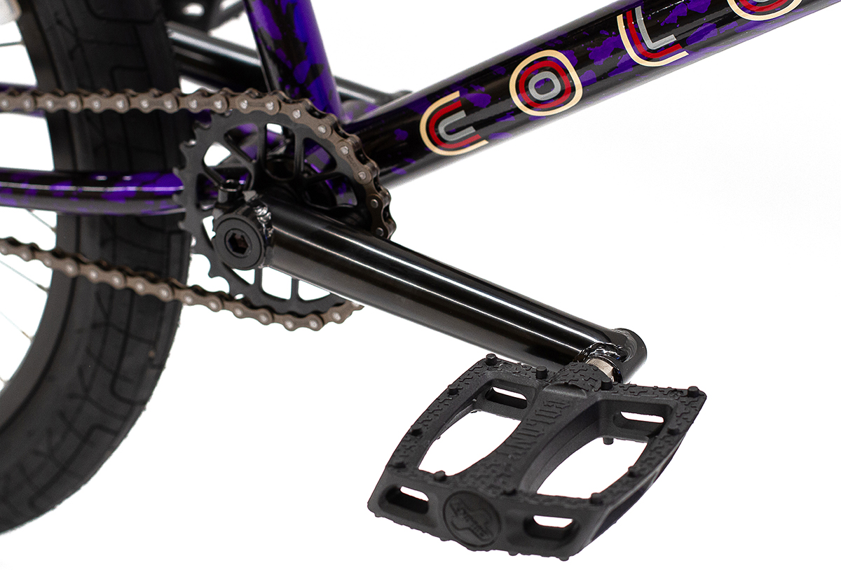 Colony BMX Emerge complete Bike Purple Storm