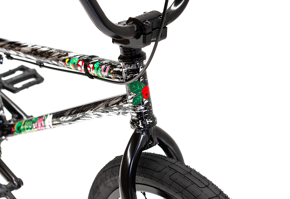 Colony BMX Sweet Tooth Pro complete bike Silver Storm