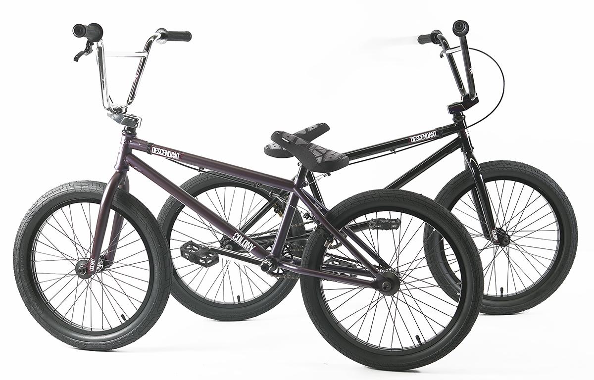 Colony Descendant BMX bike