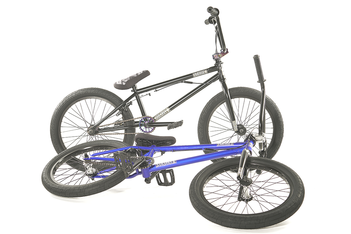 Colony BMX Emerge complete Bike Black Blue