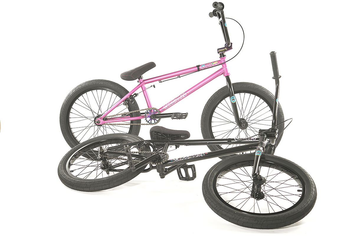 Colony BMX Sweet Tooth Pro complete bike Pink Black
