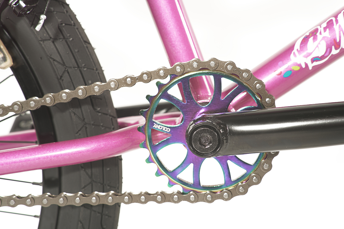 Colony BMX Sweet Tooth Pro complete bike Pink