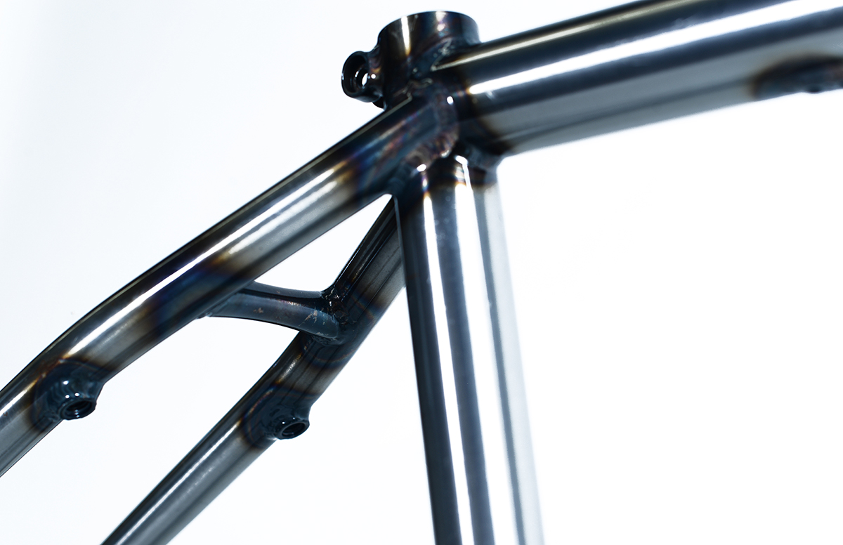 Colony BMX Monash frame Raw