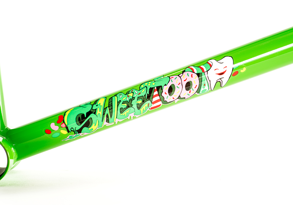 Colony BMX Sweet Tooth Frame Green