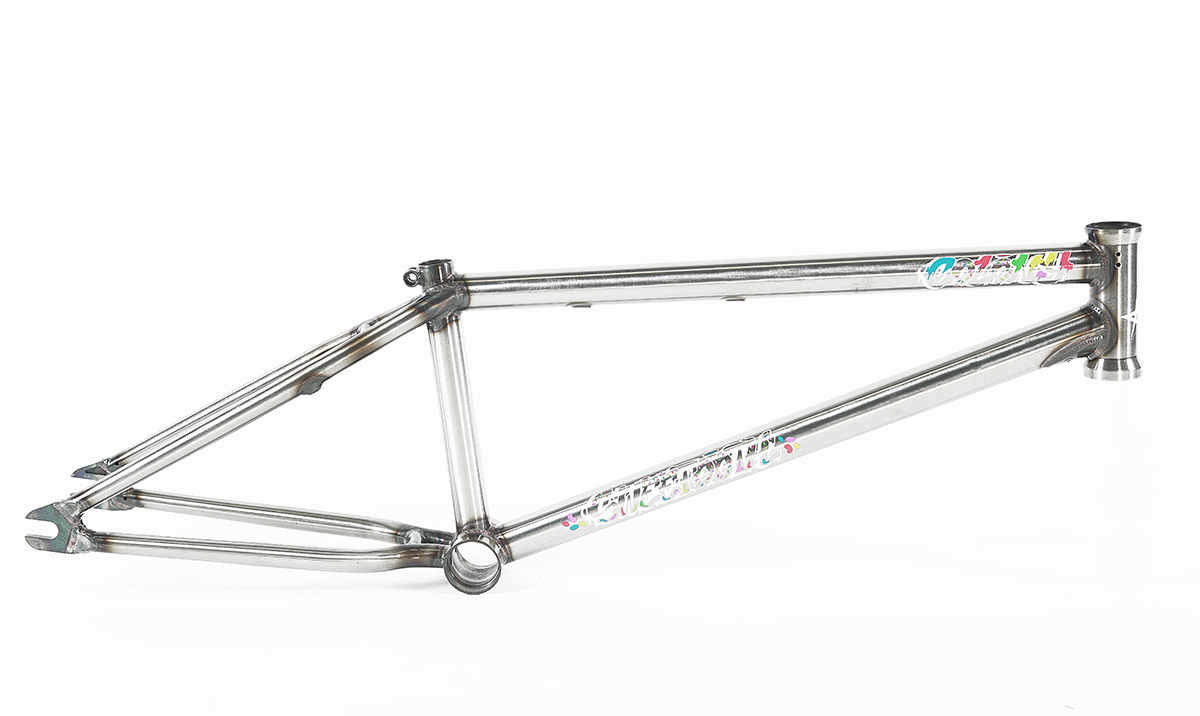 Colony BMX Sweet Tooth Frame Raw