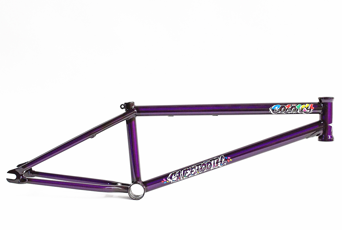 Colony BMX Sweet Tooth Frame Trans Purple