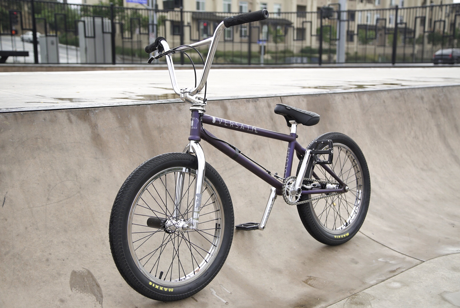 Victor Salazar bike check