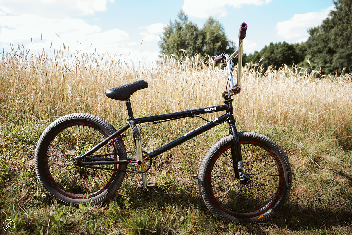 David Godziek bike check