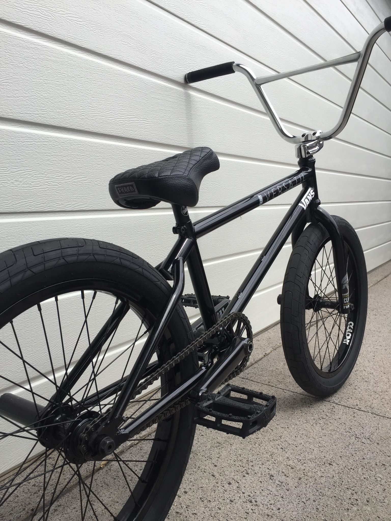 Josh Dove bike check