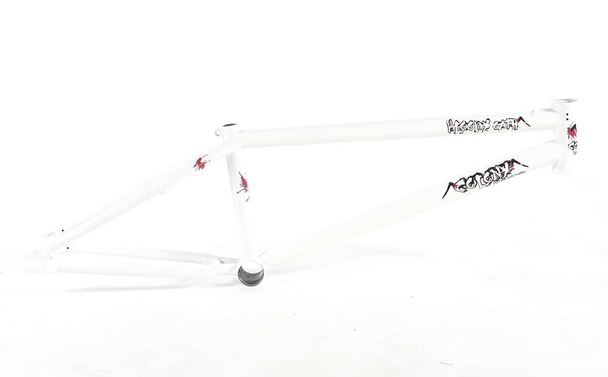 Colony BMX Bloody Oath Frame White