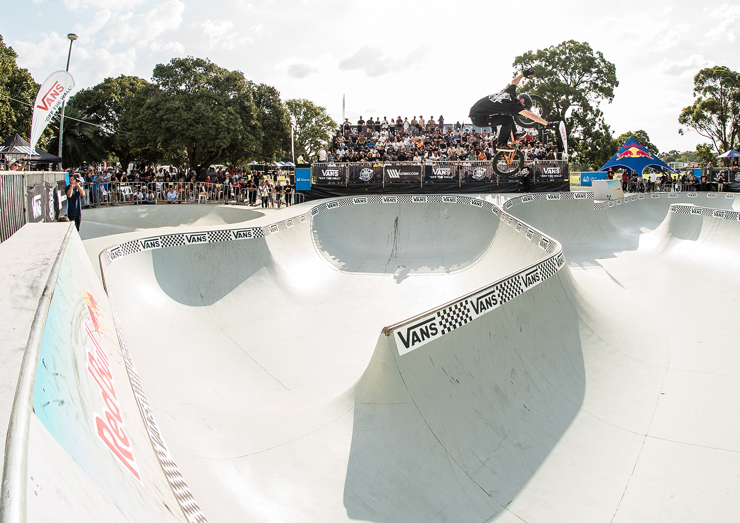 ff773ad5f7 Congrats to Chris James for scoring 2nd at the Vans BMX Pro Cup