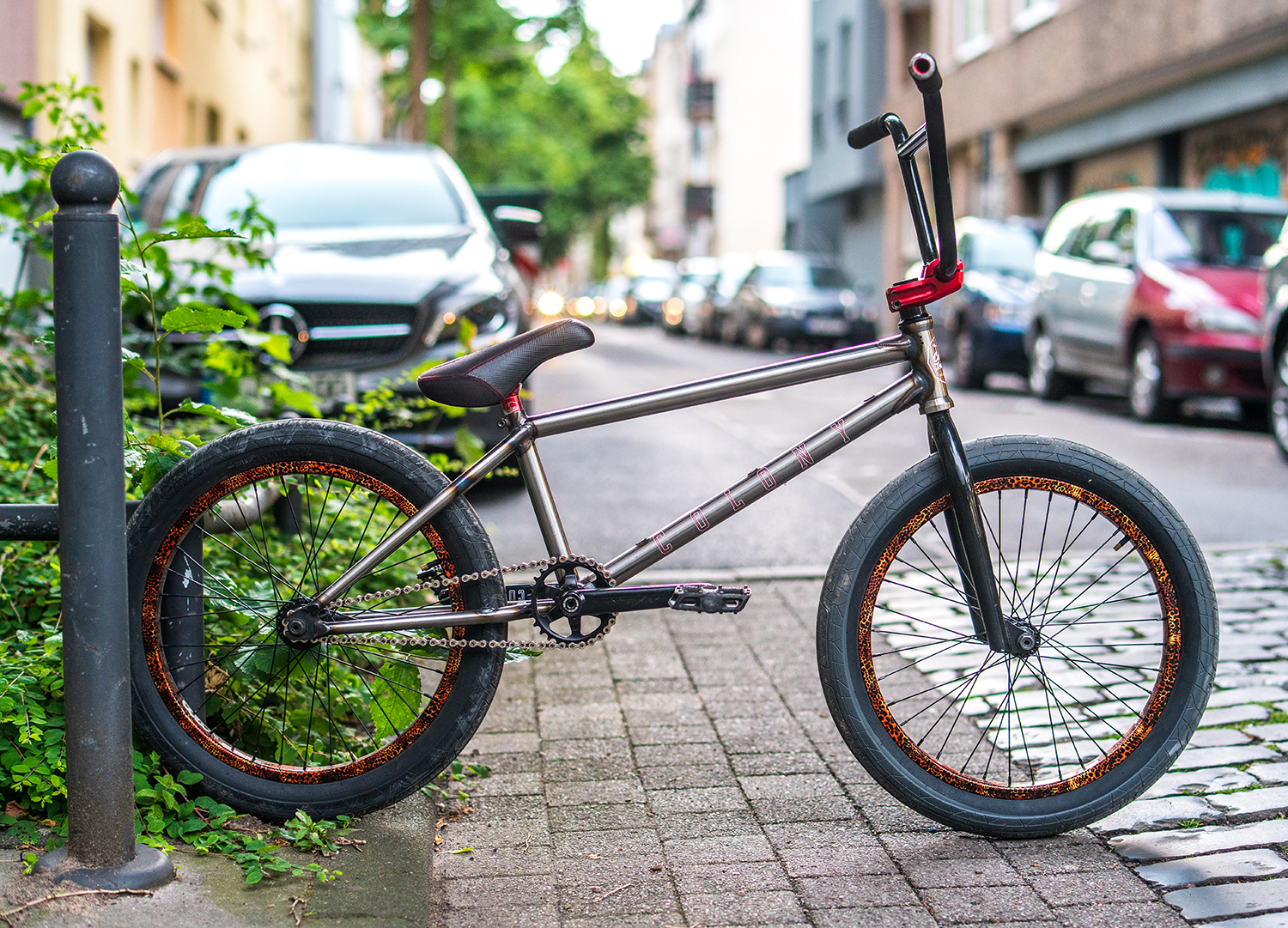 Chris James bike check