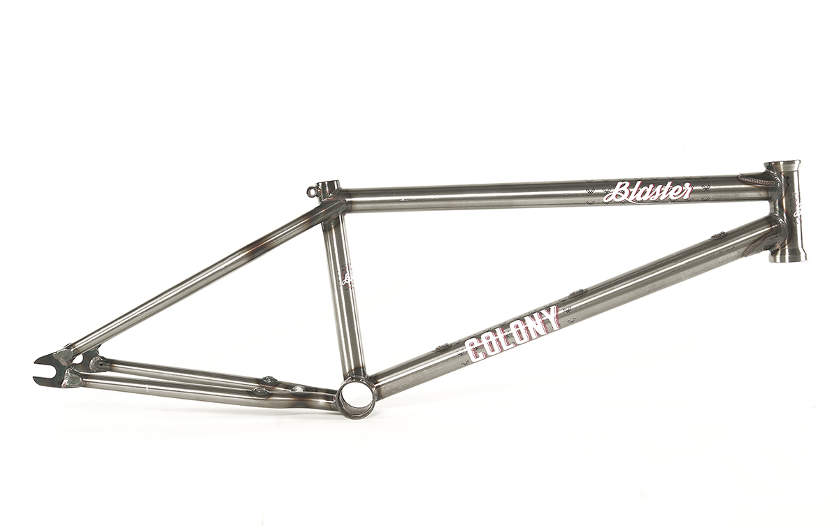 Colony BMX Blaster Frame Raw