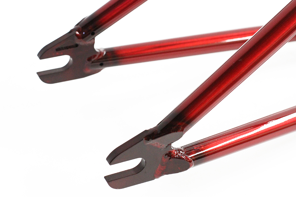Colony BMX Blaster Frame Trans Red