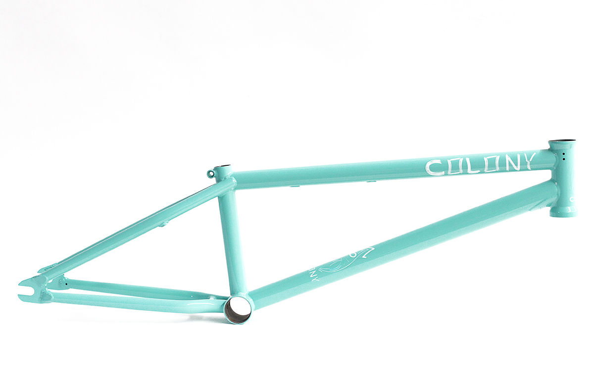 Colony BMX M8 Frame Blue Mint