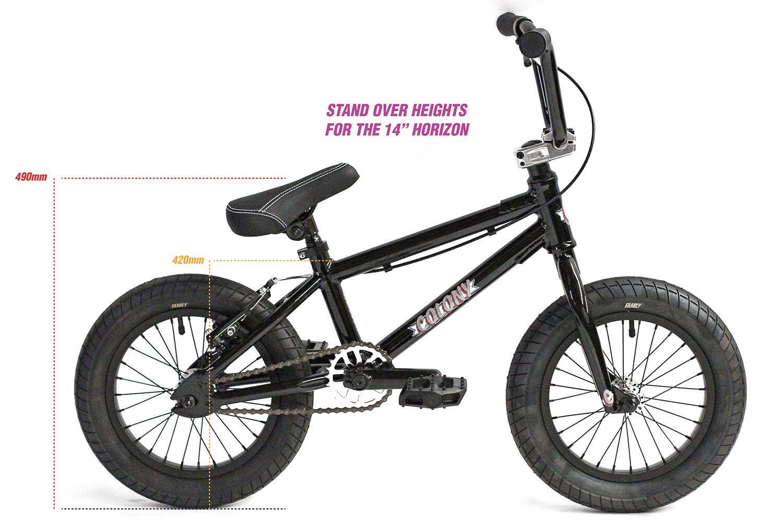"colony horizon 14"" bike sizing"