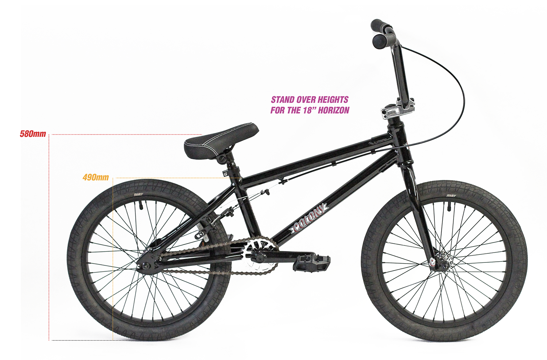 "colony horizon 18"" bike sizing"