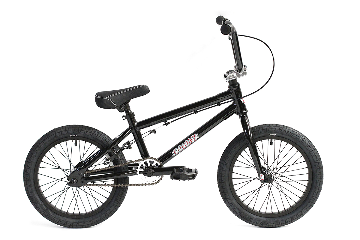 "Colony Horizon 16"" BMX bike Black"