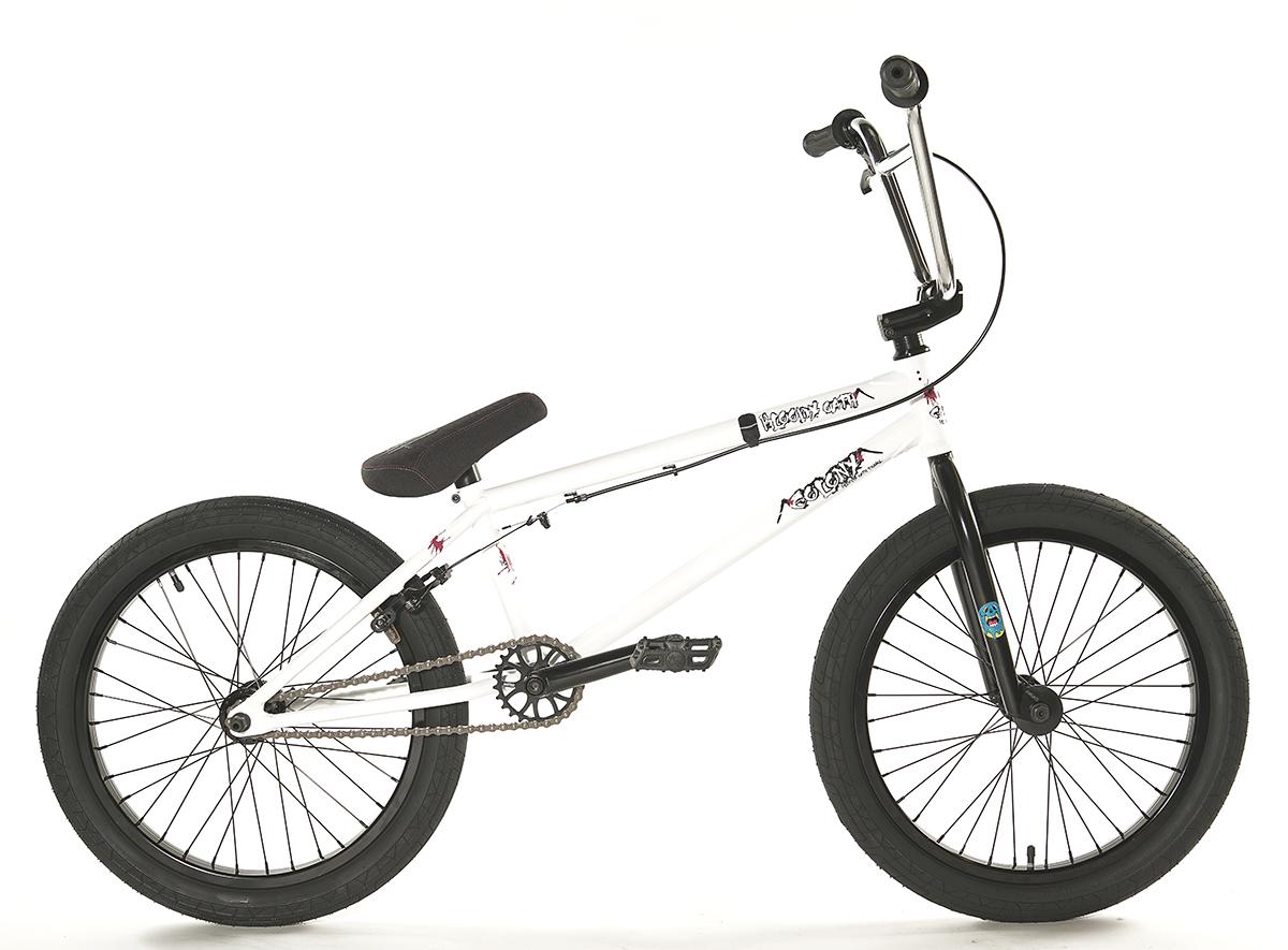 Colony Bloody Oath Pro BMX bike White