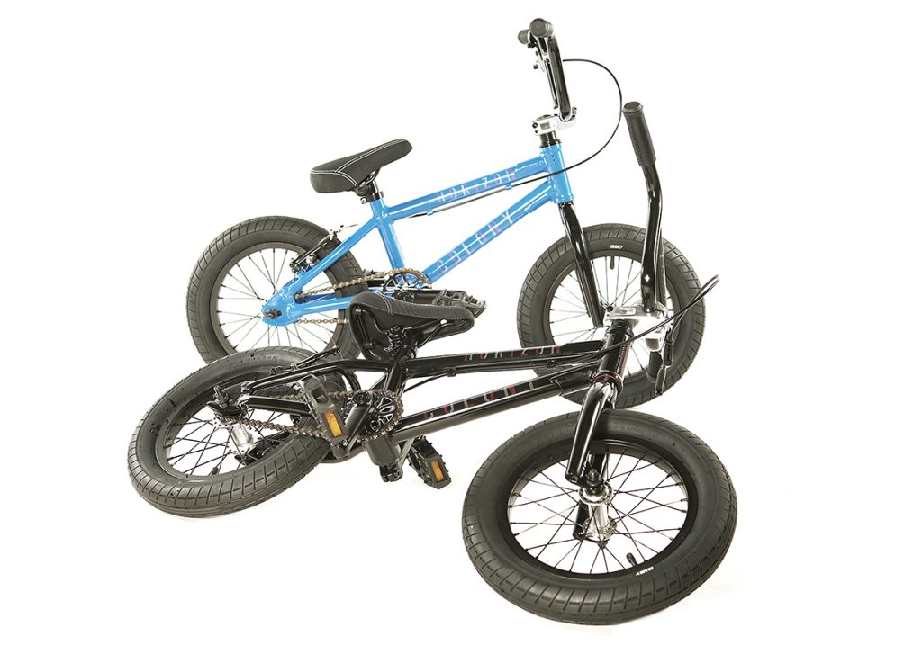 "Colony Horizon 14"" BMX bike Black Blue"