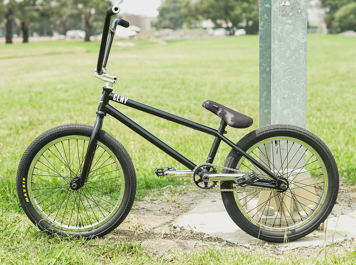 Jake Wallwork bike check