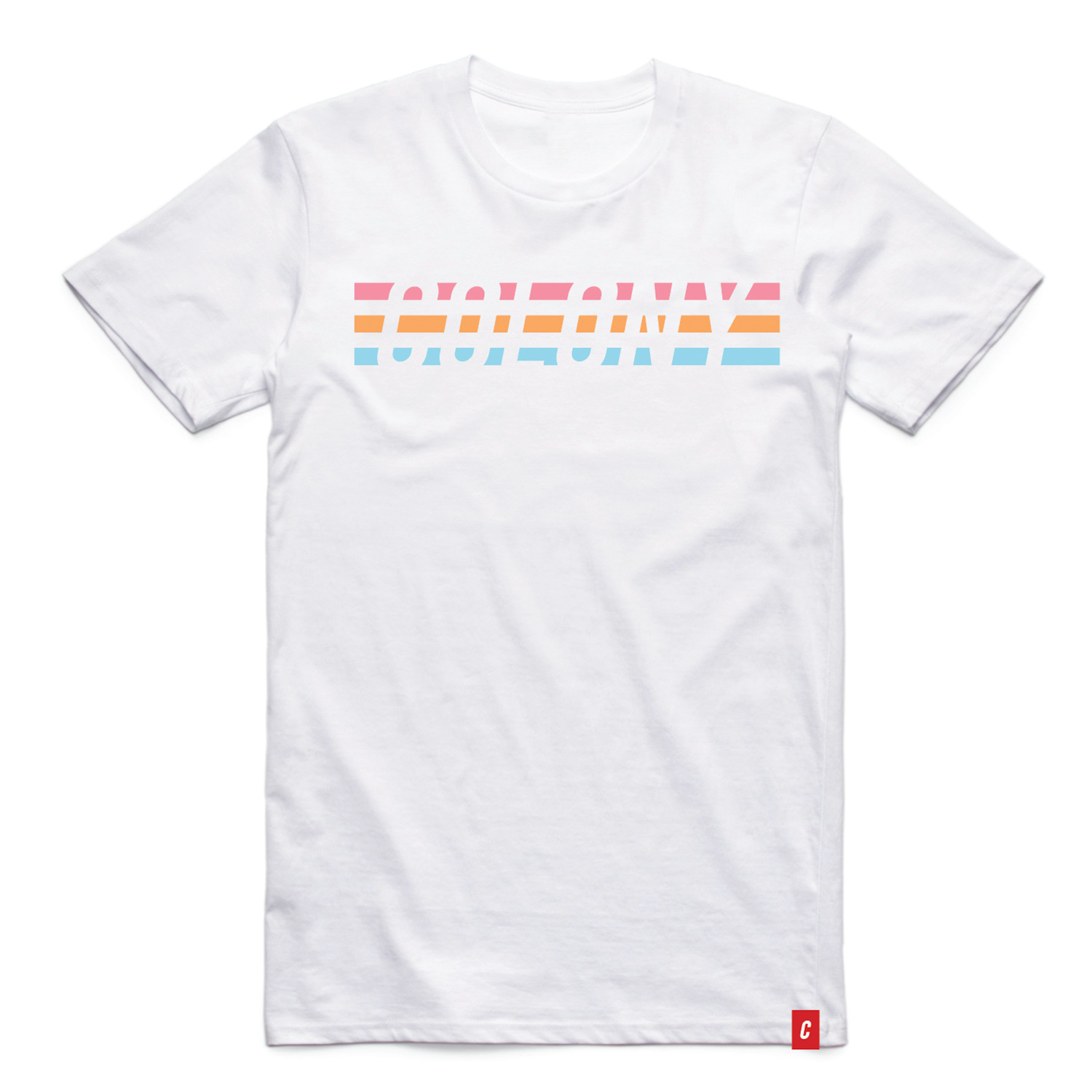Colony BMX 3 Stripe T-Shirt White