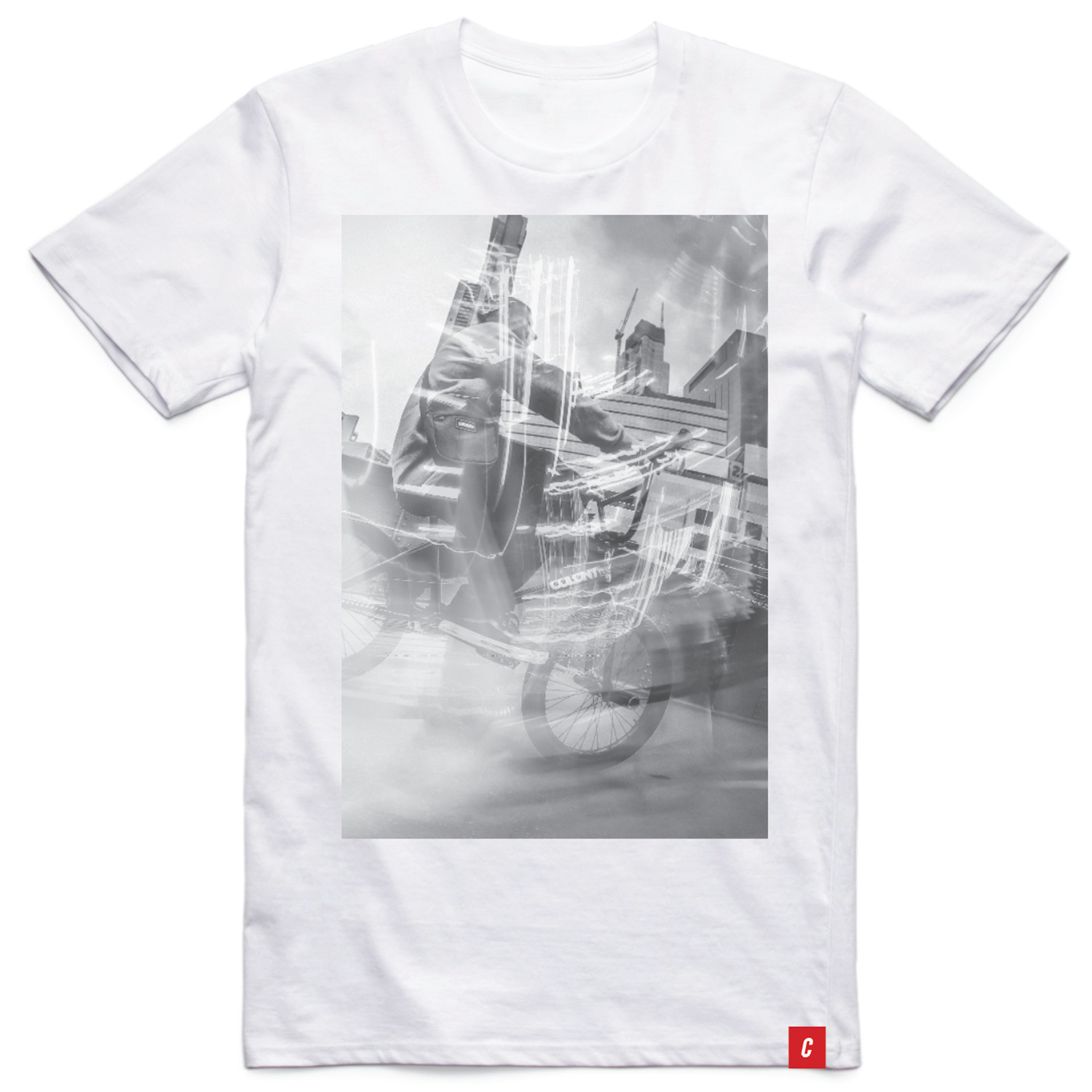 Colony BMX Cruising T-Shirt White