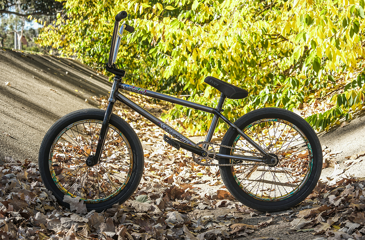 Choosing the best BMX frame size