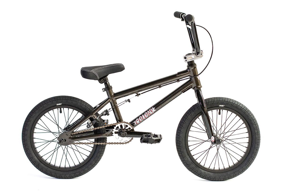"Colony Horizon 14"" BMX Bike Metal Grey"