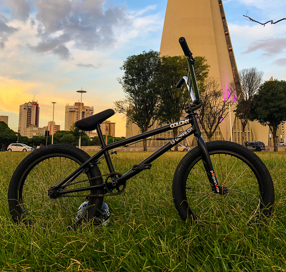 colony bmx m8 frame black